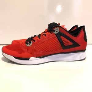 Jordan 89 Racer Fire Red Black Mens Running Shoes